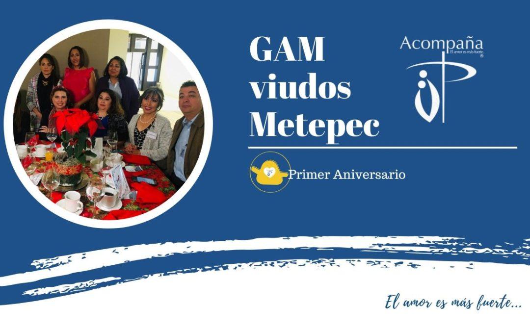 Primer Aniversario GAM viudos Metepec